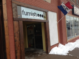 Furnish 123 on Fourth Street features a full furniture show room.