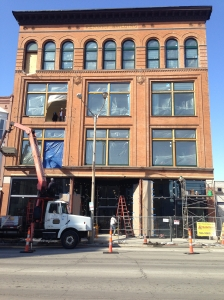 The Renwick Building on Brady Street dates to 1896 and is being renovated.