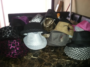 Hats, belts, shoes and costume jewelery are all offered.