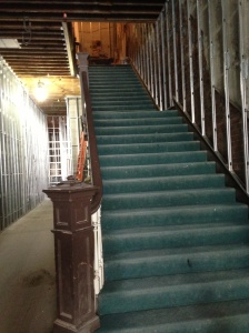 Original staircase in the Renwick Building