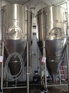 New brewing tanks help increase production