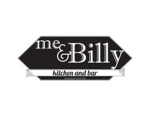 The Me & Billy Kitchen and Bar logo