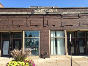 The Market building in the 500 block of W. 2nd Street will become an antique mall.