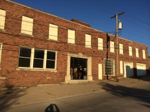 This empty warehouse at 5th and Iowa will soon be new apartments