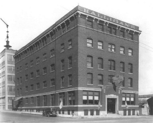 The Halligan Coffee Company Building circa 1935